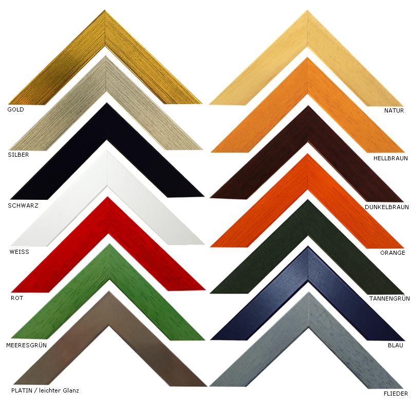 Bilderrahmen Naturfarben | Holz Bilderrahmen | Bilderrahmen ...