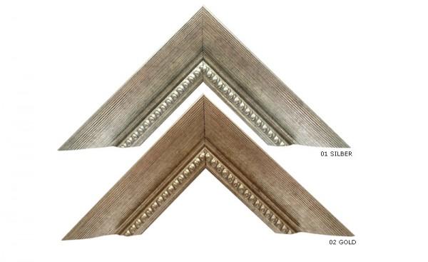 Holz Bilderrahmen Profil 28 mit Passepartout