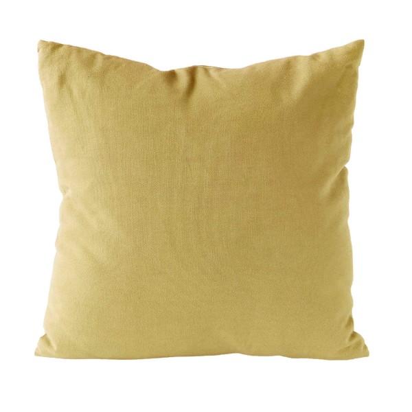 Kissen UNI - Gelb 45x45 cm