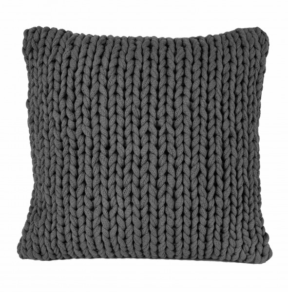 Kissen MARLIN Dark Grey 50x50 cm
