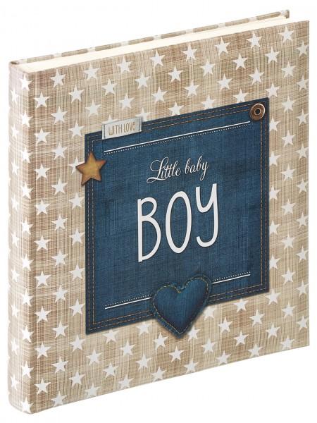 Babyalbum Little Baby Boy, 28x30,5 cm, blau