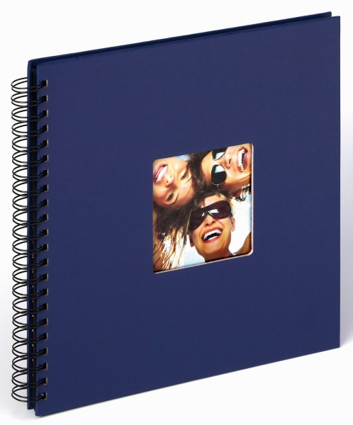 Spiralalbum Fun blau, 30x30 cm