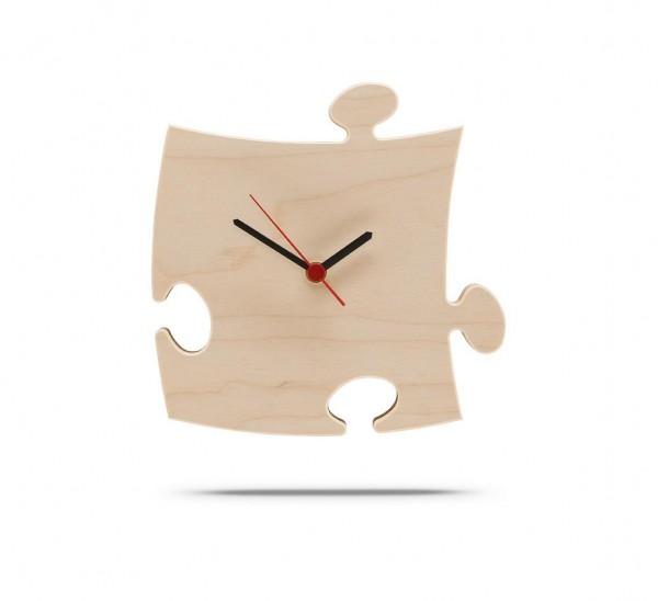 Puzzles+ Uhr mit Batterie und Stift, 2 Ebenen