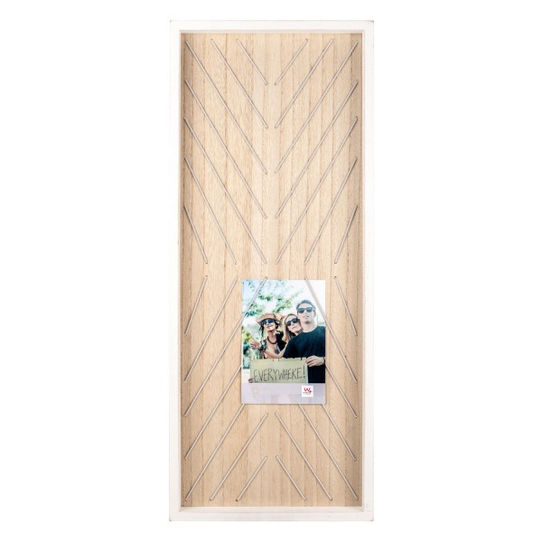 Holz Memoboard Everywhere weiss