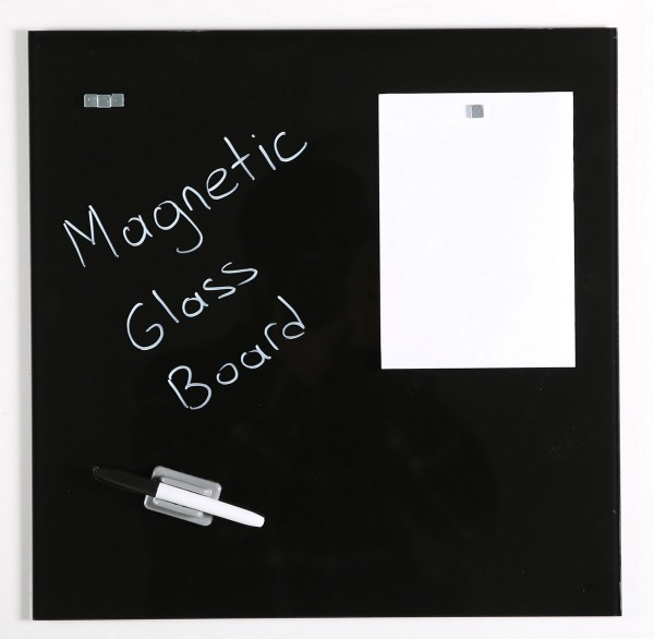 Glas Magnetboard SECURITY in 3 Farben