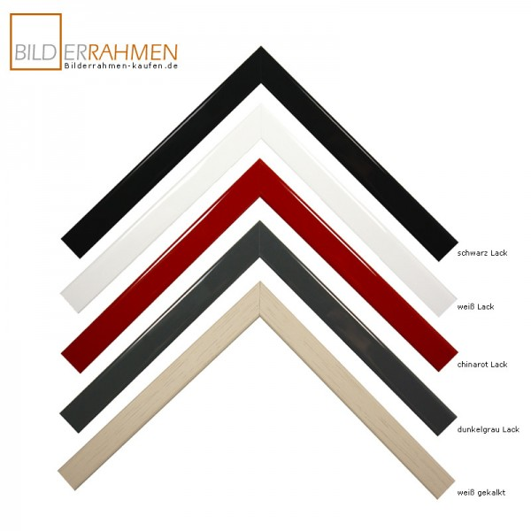 Holz Bilderrahmen Arte Profil 0205 Lack