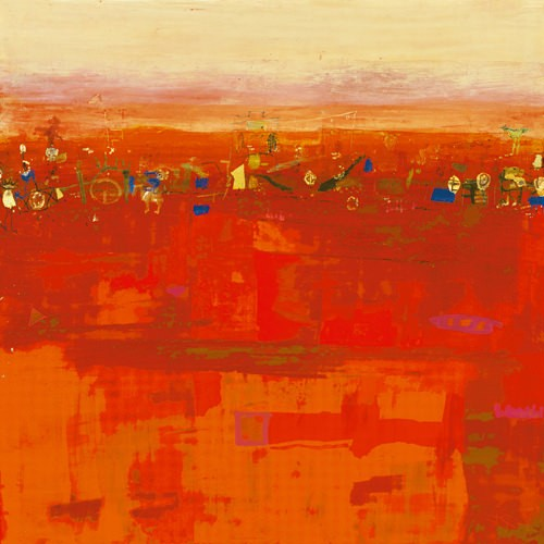 RED LANDSCAPE von Rose Richter-Armgart