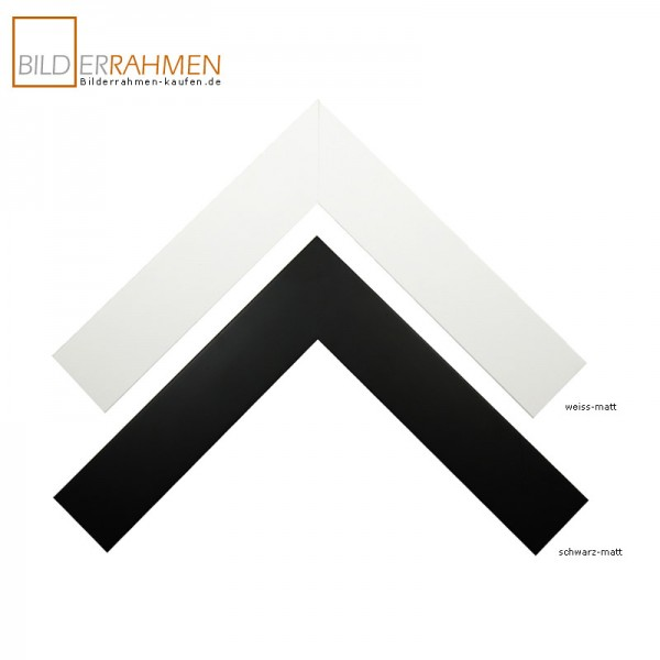 Holz Bilderrahmen Nero Profil 5199