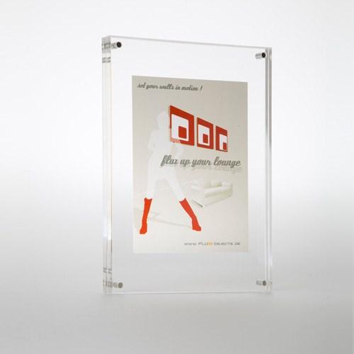 acryl bilderrahmen flux frame f r format din a4. Black Bedroom Furniture Sets. Home Design Ideas