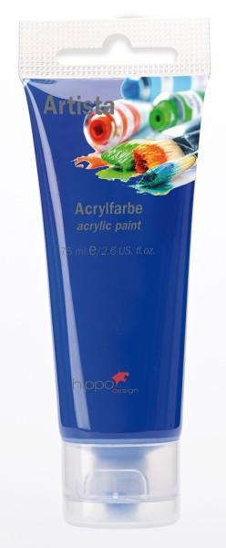 Acrylfarbe, dunkelblau 1 Tube je 75 ml