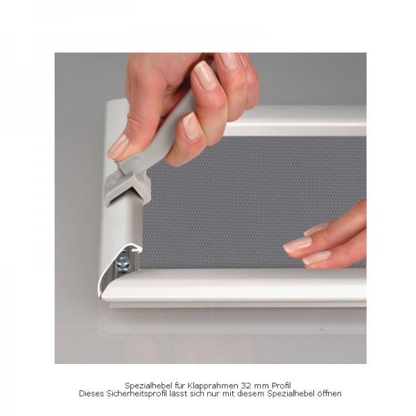 Rahmenöffner für Klapprahmen SAFETY SNAP / 25+32 mm