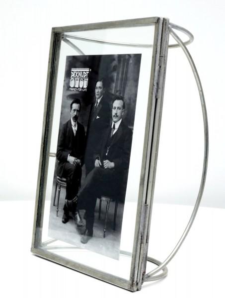 Metall Fotorahmen Obsolet silber