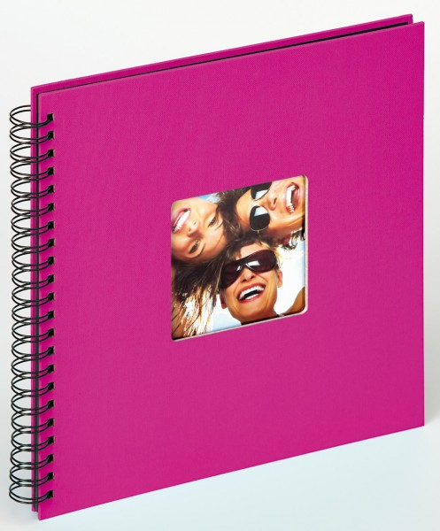 Spiralalbum Fun pink, 30x30 cm