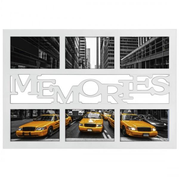 Galerierahmen Collage Budapest - MEMORIES für 6 Fotos