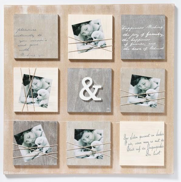 Galerierahmen Bella Blockform zum Hängen für 5 Bilder