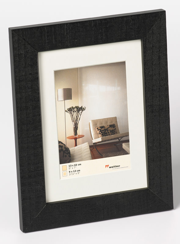 holz bilderrahmen home inkl passepartout bilderrahmen. Black Bedroom Furniture Sets. Home Design Ideas