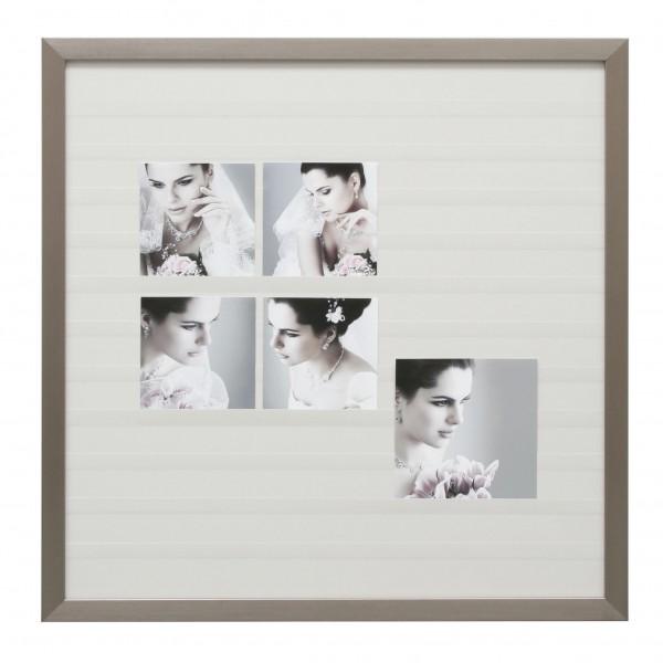 Collage Einsteckrahmen Louis silber