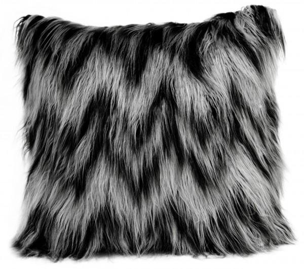Kissen KIMBER Charcoal Silver 50x50 cm