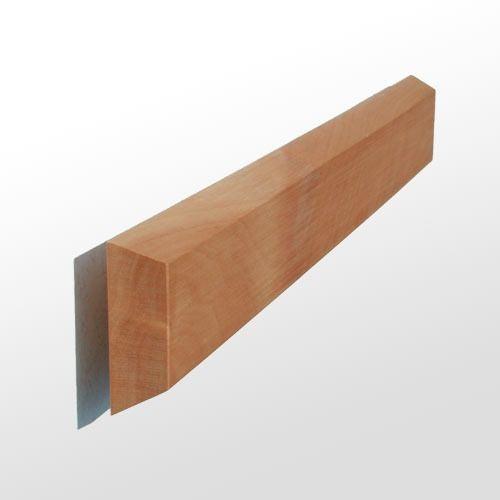 FLUX-Panel, Birnen-Holz massiv Schlüsselleiste 4,0 x 32 cm