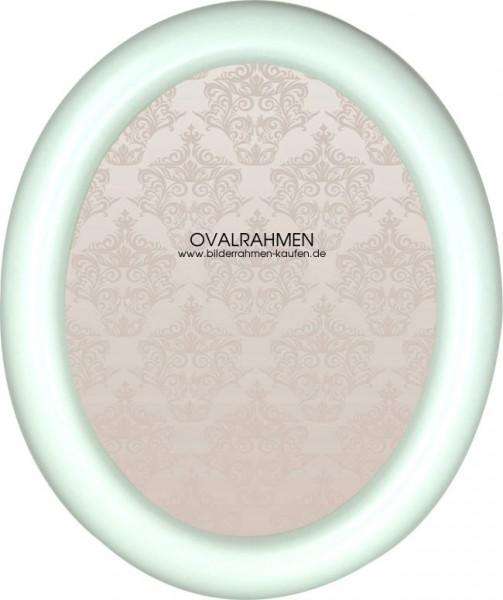 Oval Bilderrahmen Holz Profil 200 in 4 Farben
