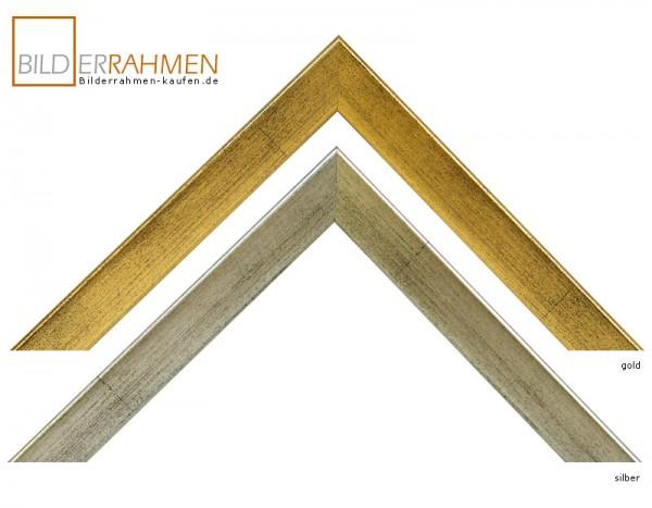 holz bilderrahmen bavaria profil 0156 gold silber bilderrahmen. Black Bedroom Furniture Sets. Home Design Ideas