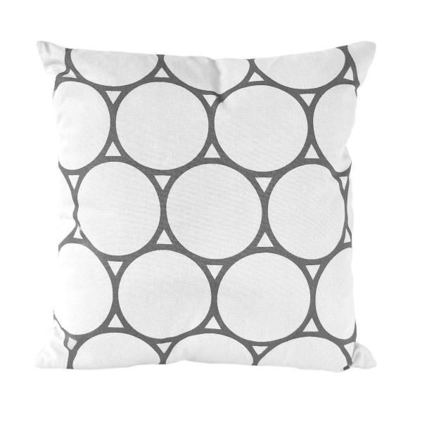 Kissen CIRCLE - Bright White 45x45 cm