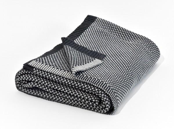 Wohndecke AKIRA - Dark Grey 150x200 cm
