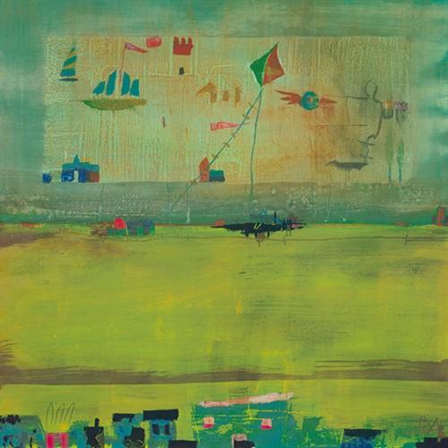 GREEN LANDSCAPE von Rose Richter-Armgart