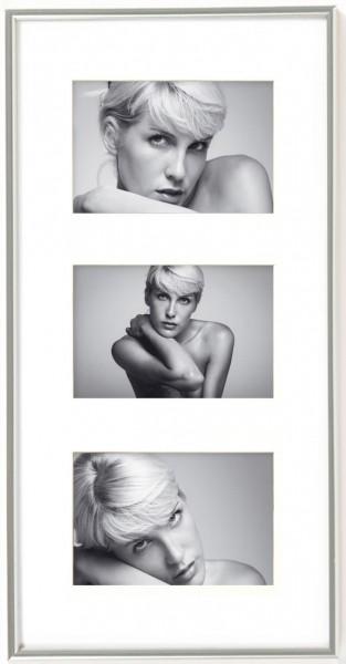 Kunststoff Galerierahmen Galeria für Format 3x 10x15 cm