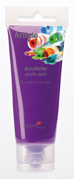 Acrylfarbe, violett 1 Tube je 75 ml