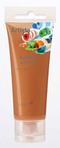 Acrylfarbe, bronze 1 Tube je 75 ml