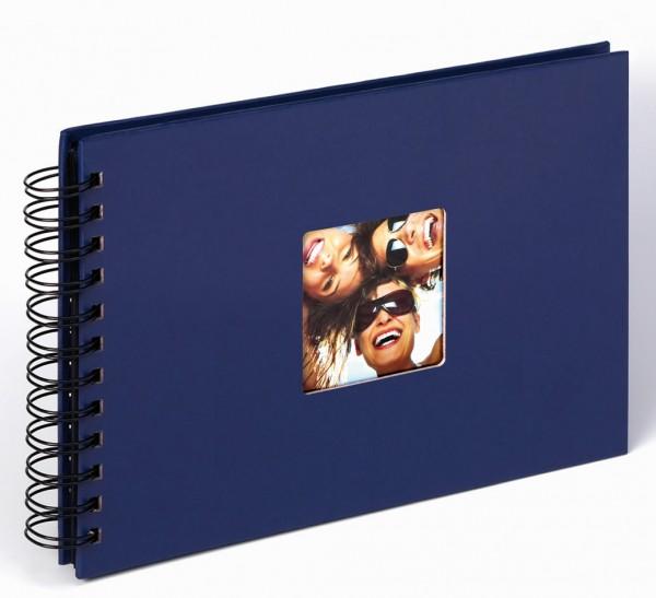 Spiralalbum Fun blau, 23x17 cm