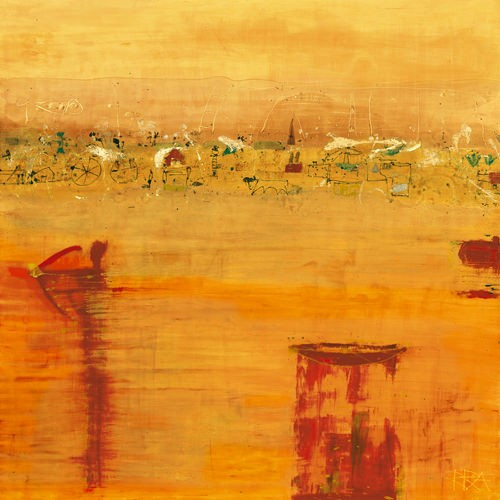 ORANGE LANDSCAPE von Rose Richter-Armgart