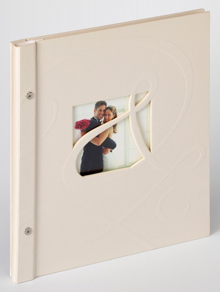 Buchschraubenalbum Sinfonia Wedding Ti Amo, creme, 30x33 cm