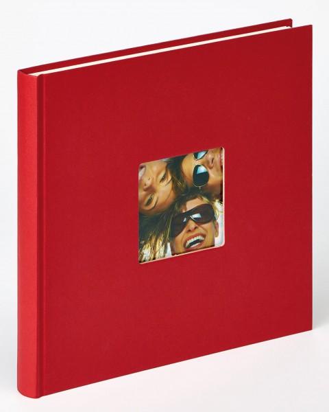 Designalbum Fun in rot, 26x25 cm