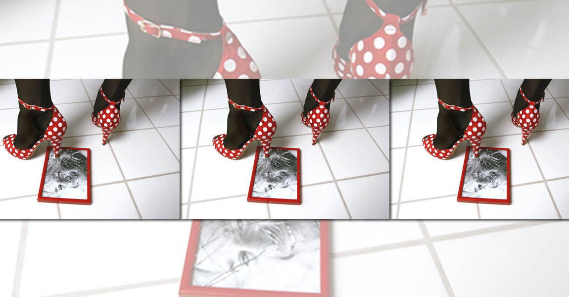 Garantiert bruchsicher: Bilderrahmen mit Kunstglas | Bilderrahmen ...